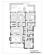 2107 Reaves Drive new floor plan