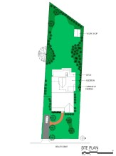 2107 Reaves Drive site plan