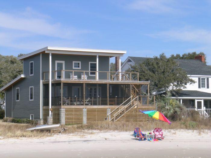 Devon tolson architecture shearin beach house for Beach house construction cost